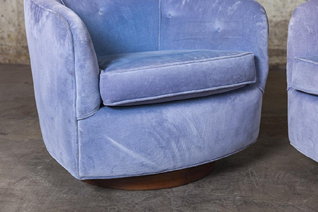 Milo Baughman Swivel Chairs - 3