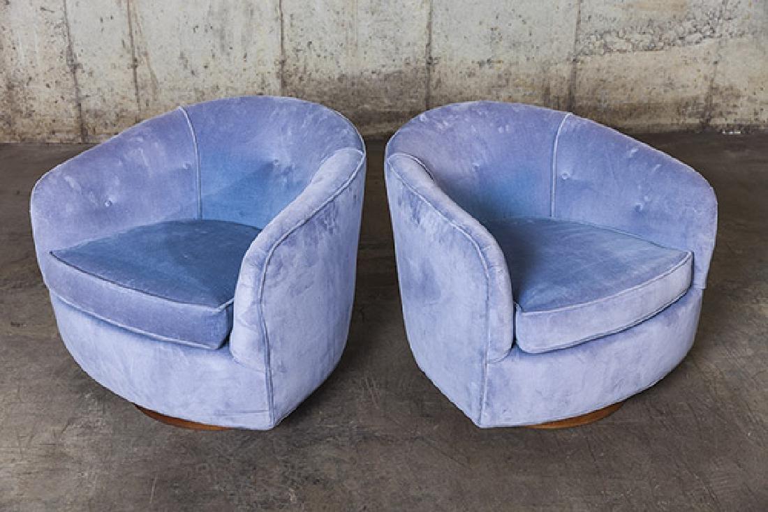 Milo Baughman Swivel Chairs - 4