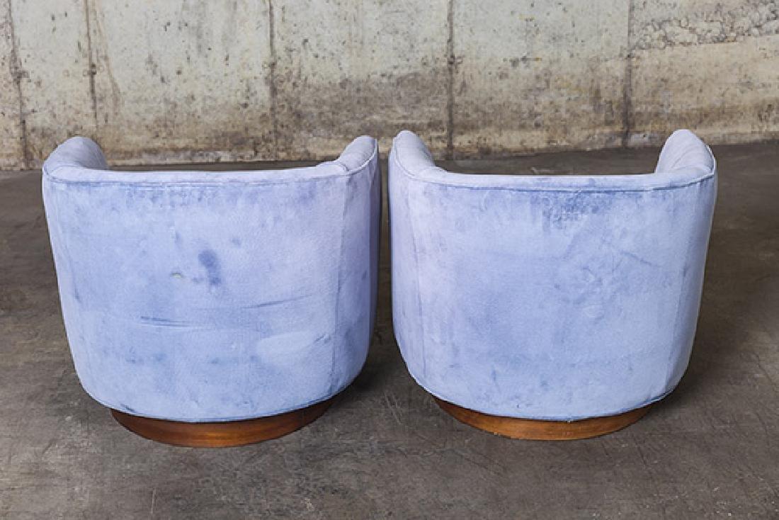 Milo Baughman Swivel Chairs - 5