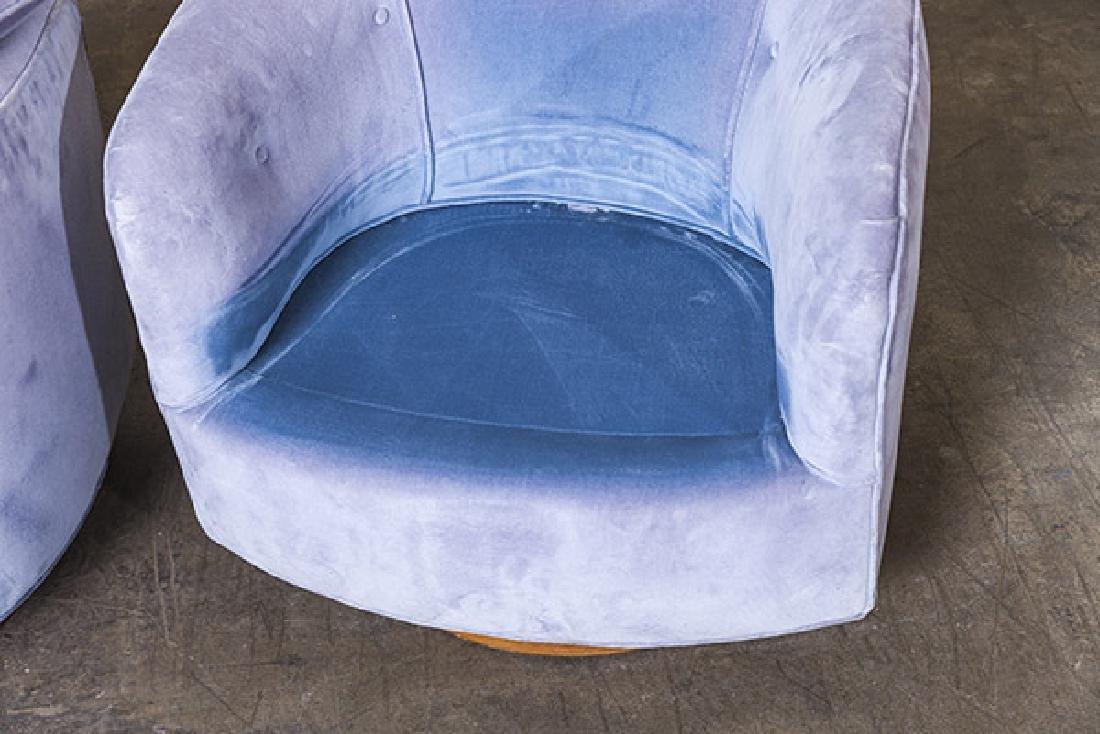 Milo Baughman Swivel Chairs - 7