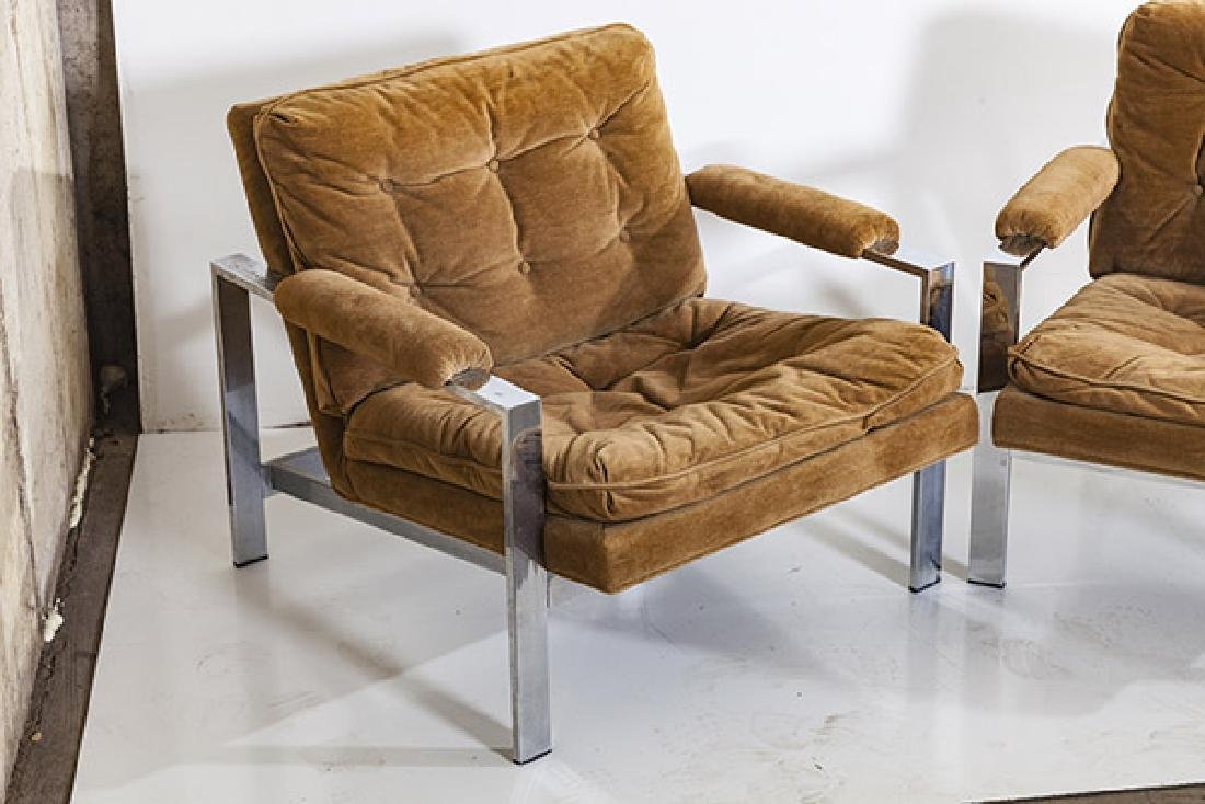 Milo Baughman Lounge Chairs - 2