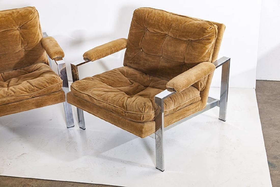 Milo Baughman Lounge Chairs - 3