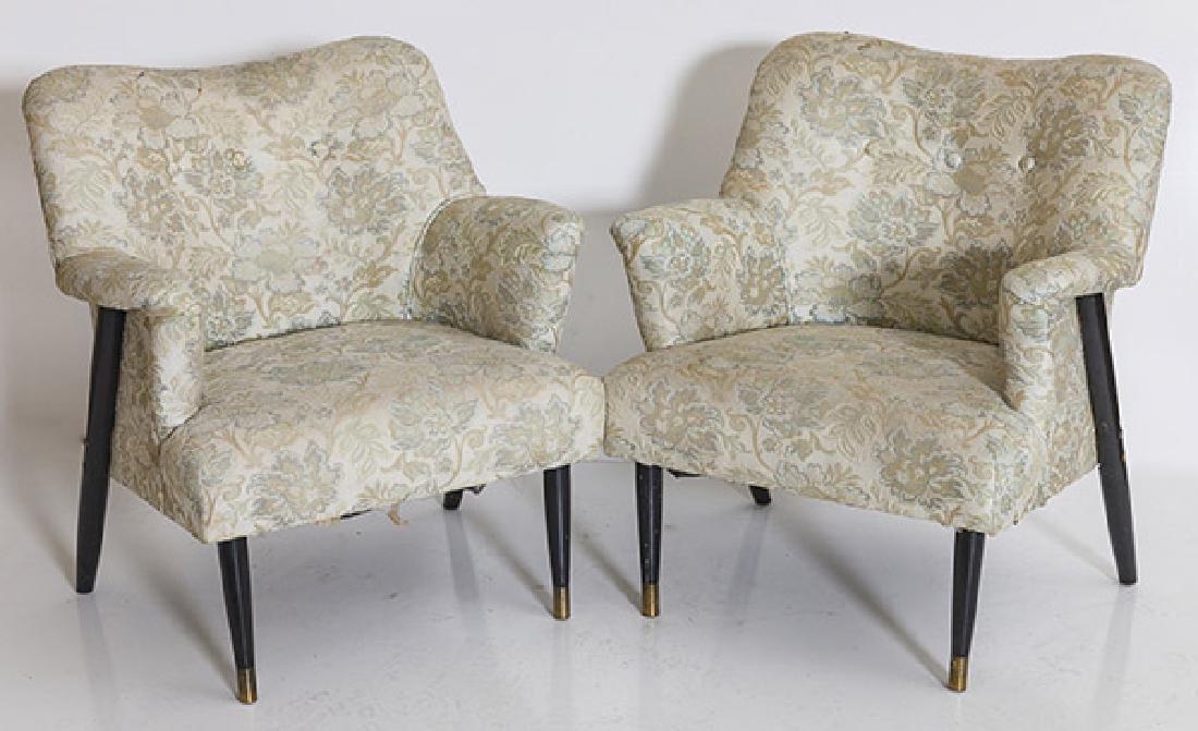 Edward Wormley Lounge Chairs (Attribution)