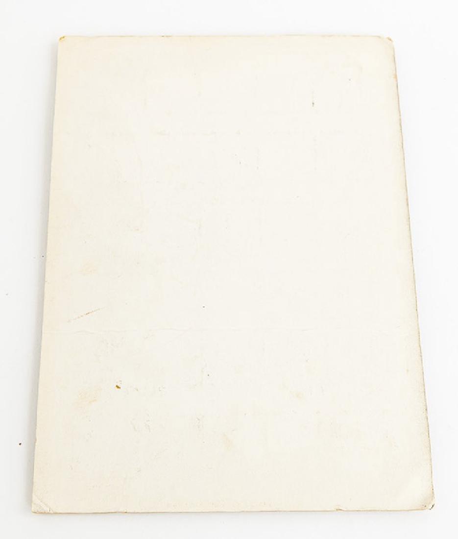 Rare Gordon and Jane Martz Chart No. 34 - 5
