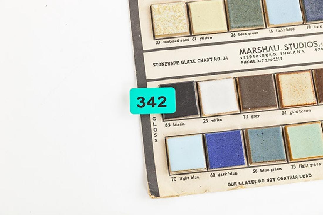 Rare Gordon and Jane Martz Chart No. 34 - 6