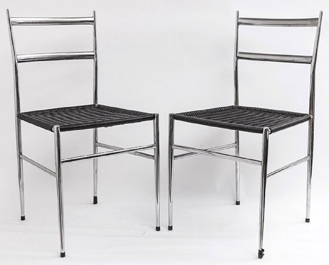 """Gio Ponti """"Superleggera"""" Dining Chairs"""