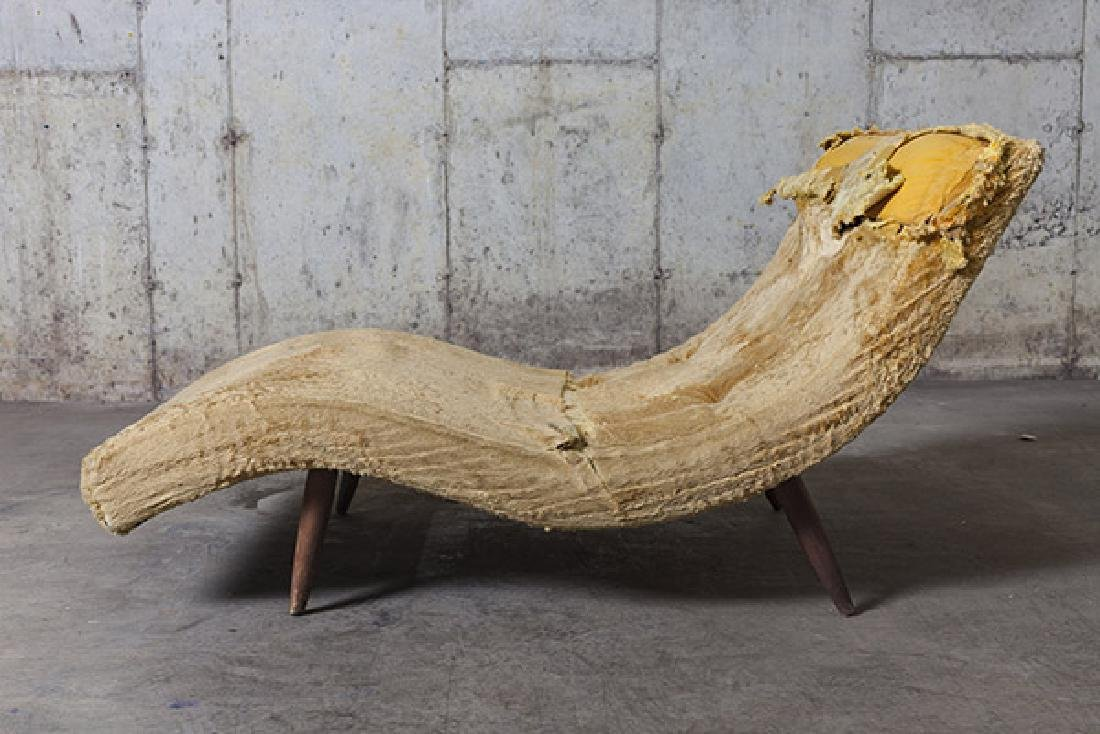 """Adrian Pearsall """"Wave"""" Chaise - 2"""