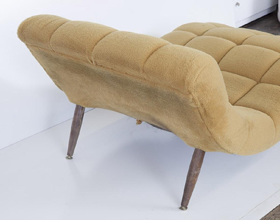 """Adrian Pearsall """"Wave"""" Chaise - 4"""