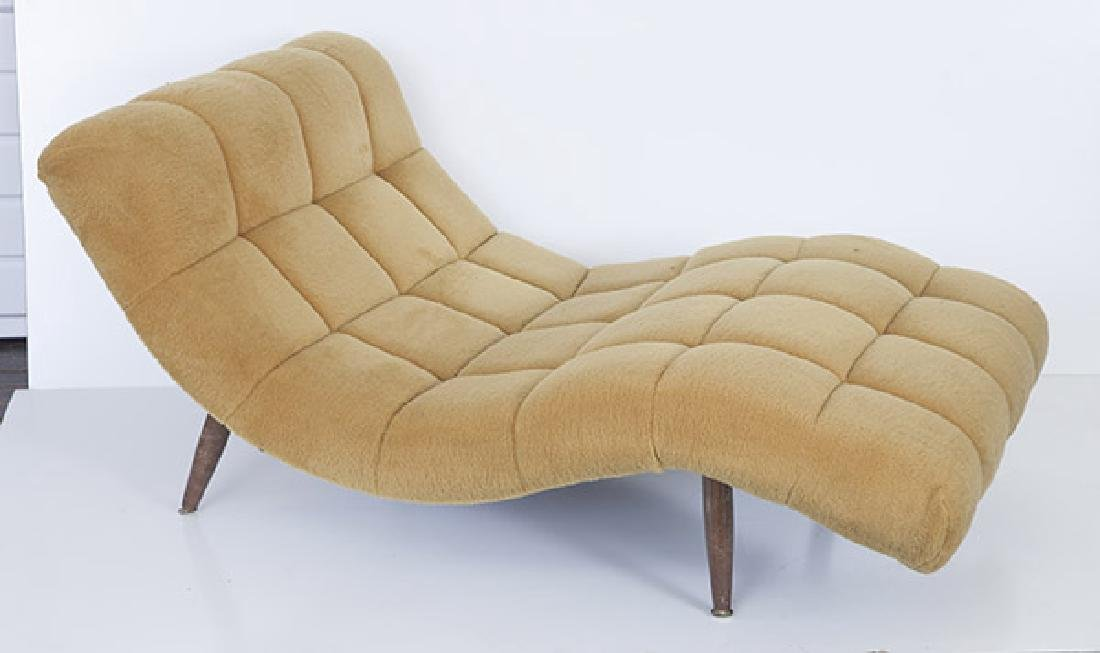 """Adrian Pearsall """"Wave"""" Chaise - 5"""