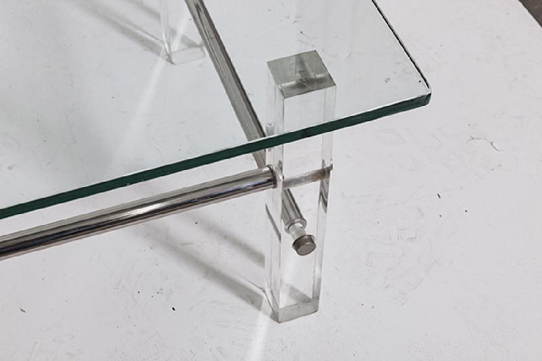 Lucite Coffee Table - 2