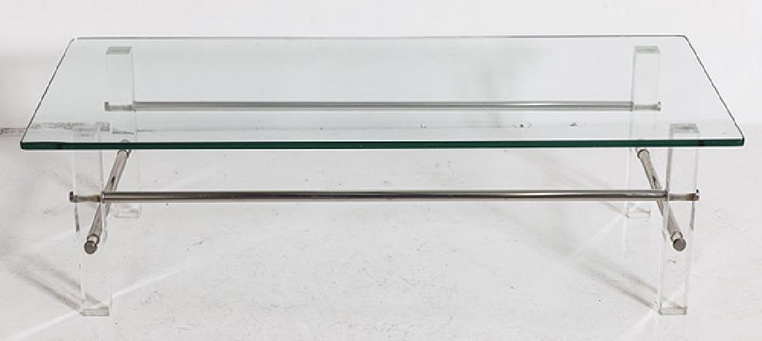 Lucite Coffee Table - 3