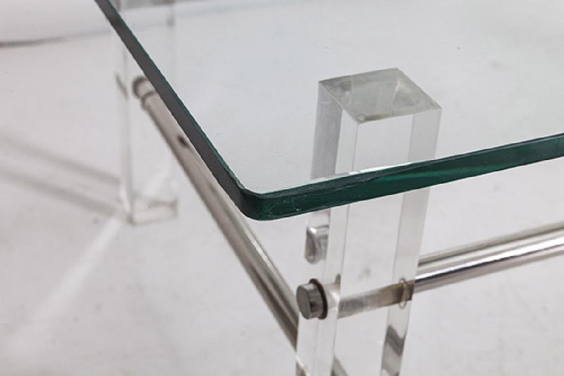 Lucite Coffee Table - 4