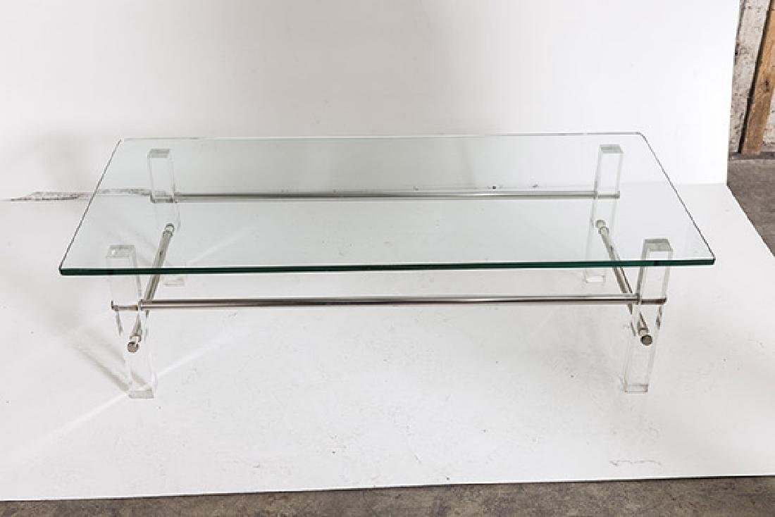 Lucite Coffee Table - 7