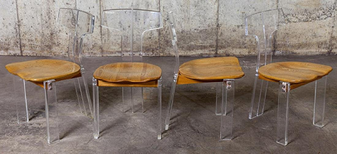 Annonymous Lucite Chair