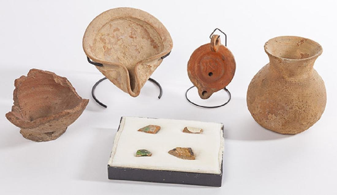 Assembled Pre-Columbian Pottery
