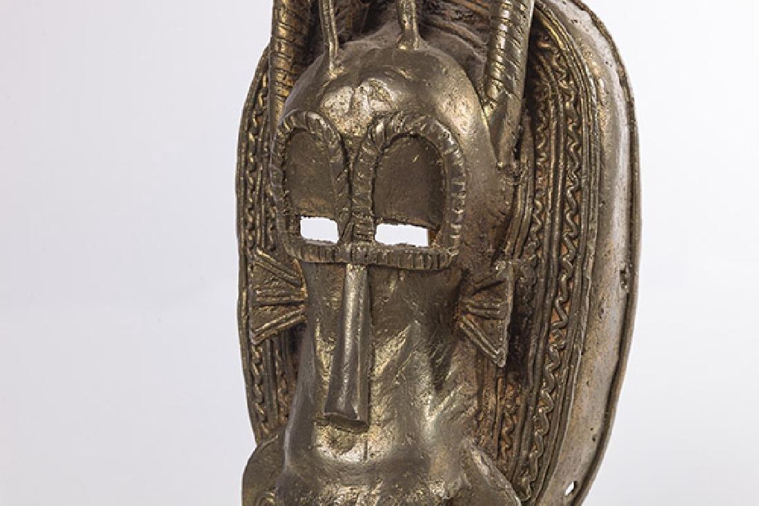 Bronze Senufo Mask - 4