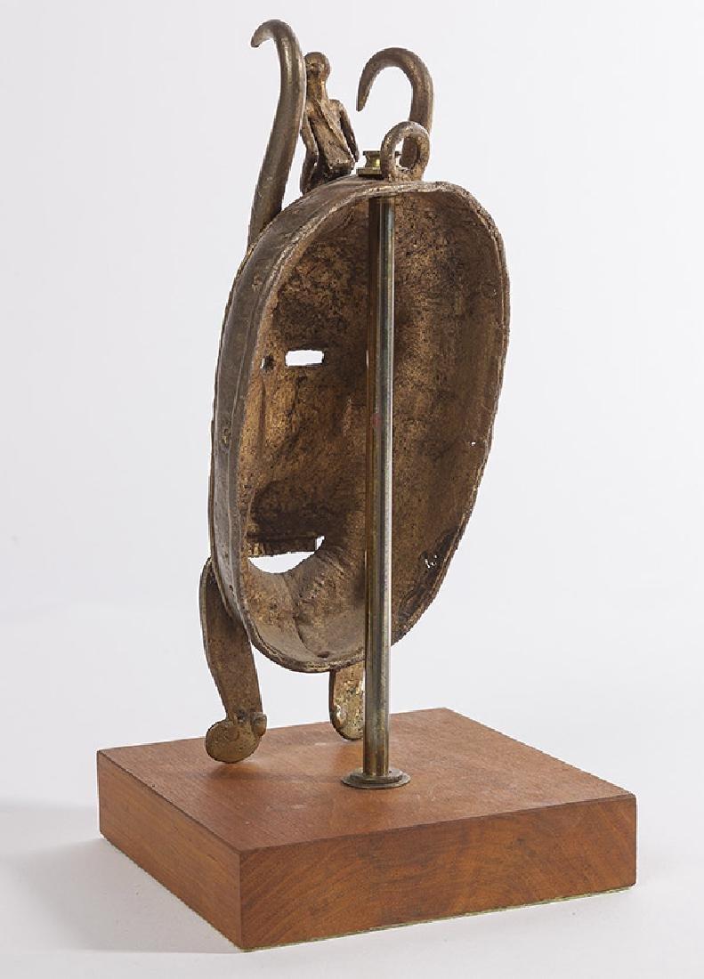 Bronze Senufo Mask - 6
