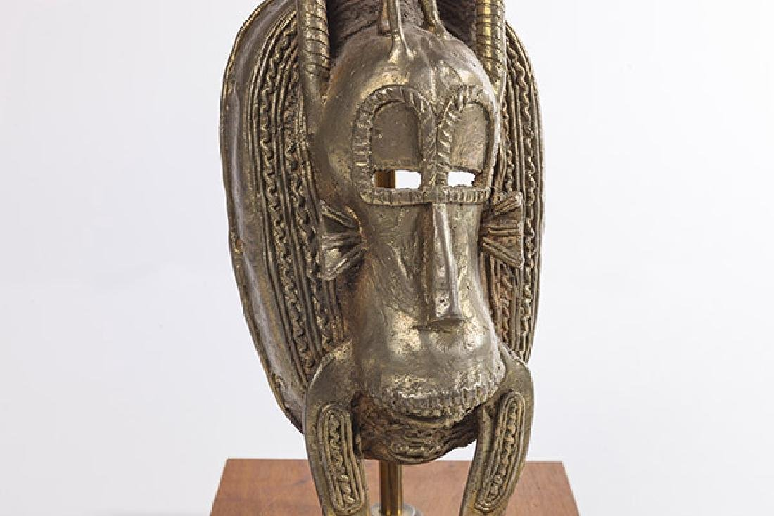 Bronze Senufo Mask - 9