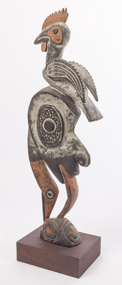 African Carved Statue - 5