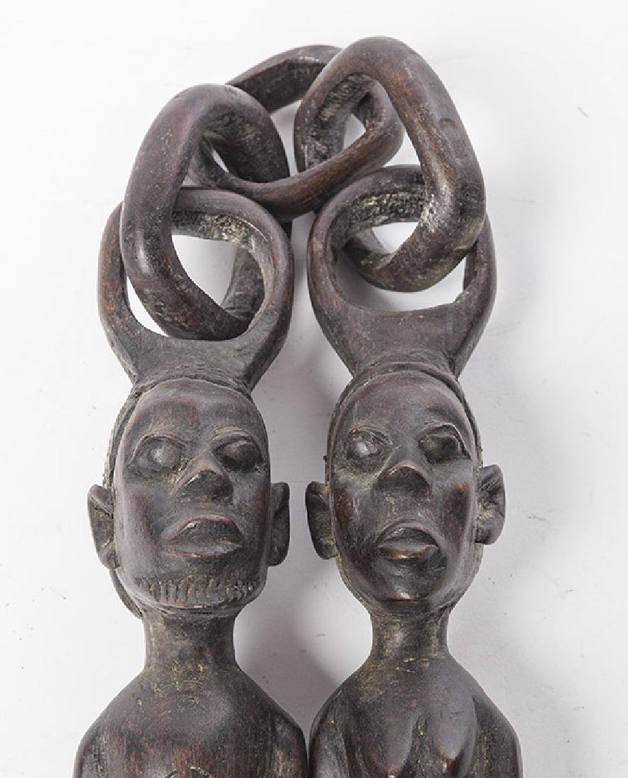 African Figural Weapon - 4