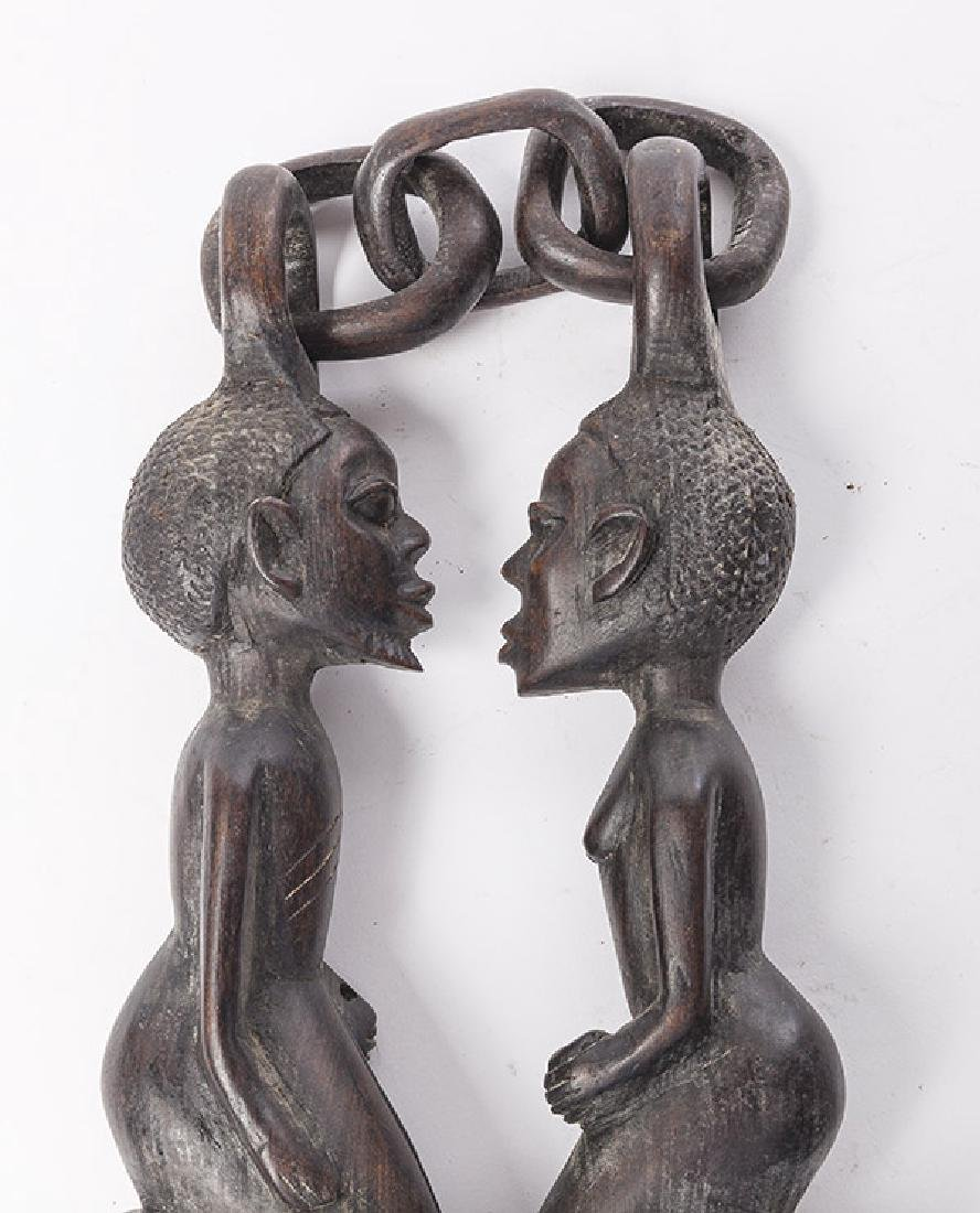 African Figural Weapon - 6