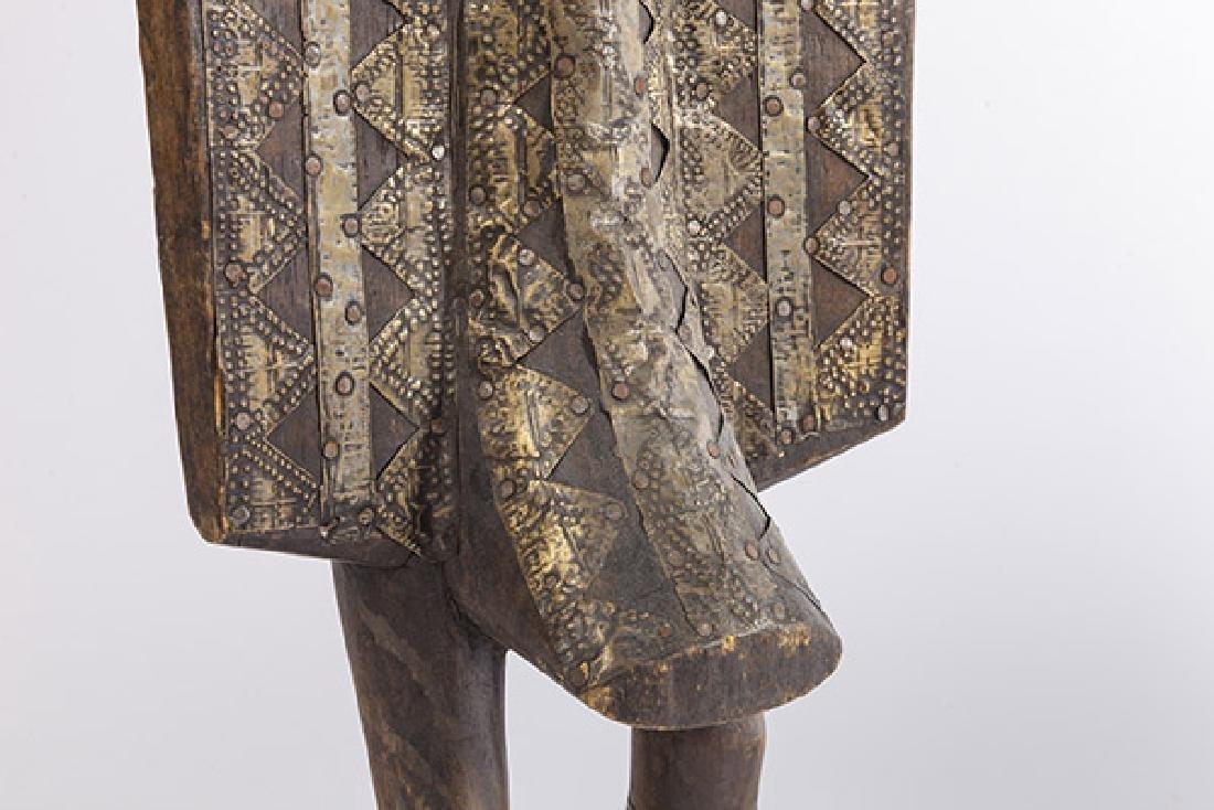 Antique Senufo Porplanong African Hornbill Statue - 6
