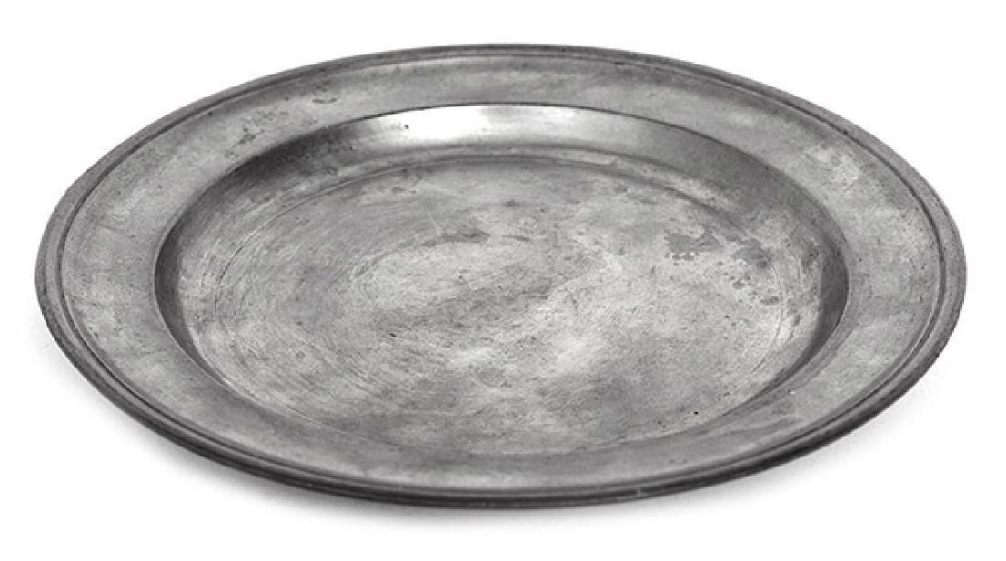 Boardman & Hart, N.Y. Pewter Plate
