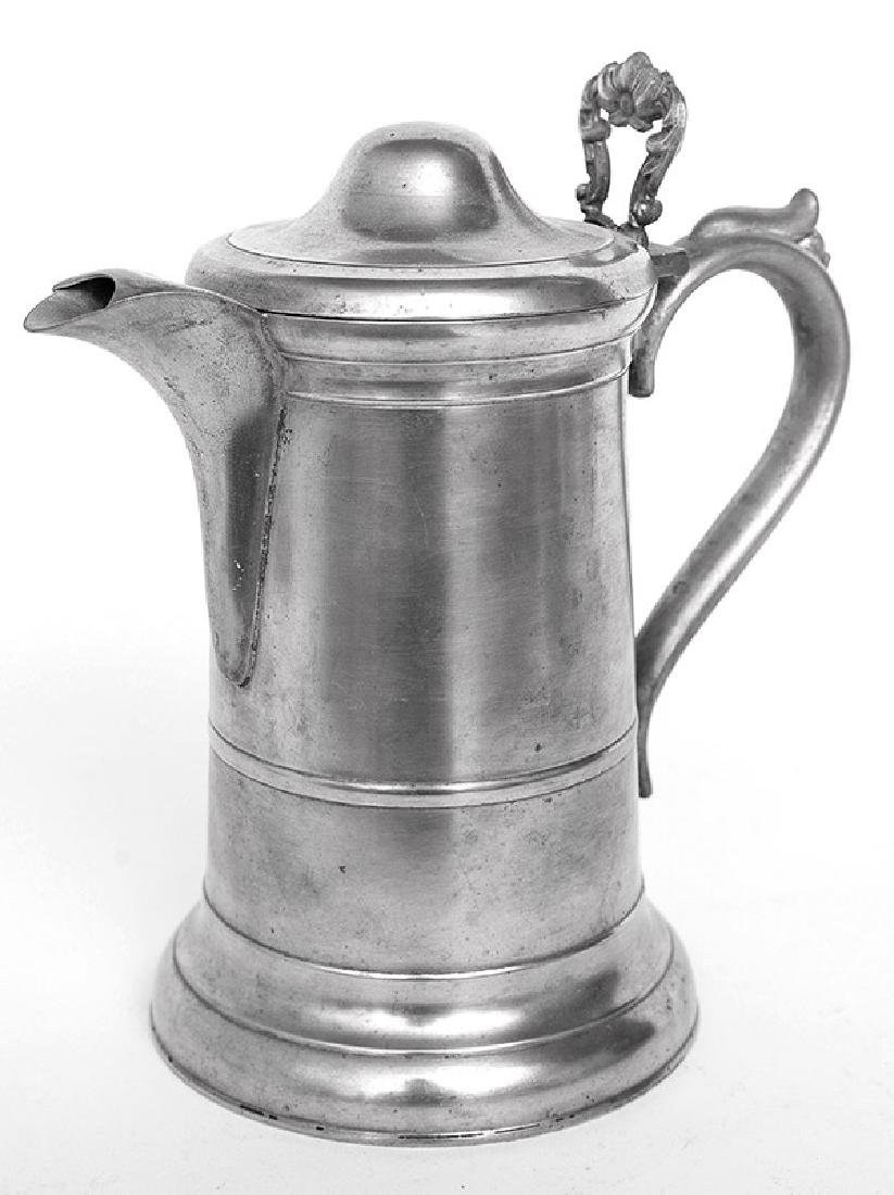 Sellew & Co. Pewter Flagon