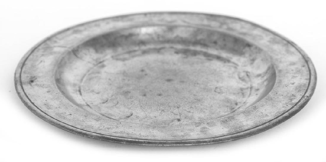 Geo. Lightner Pewter Plate