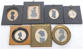 Seven Early Miniature Portraits