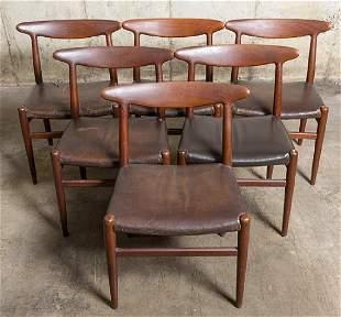 Hans J. Wegner Dining chairs