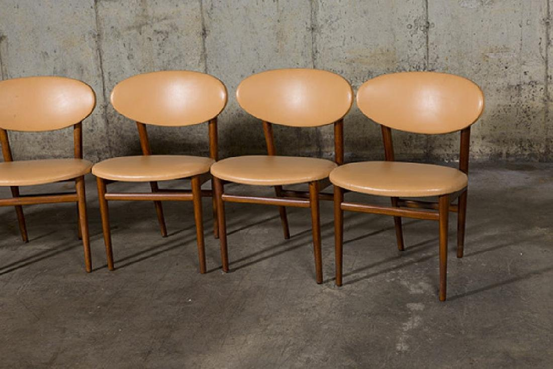 Grete Jalk Dining Chairs, set of six - 2