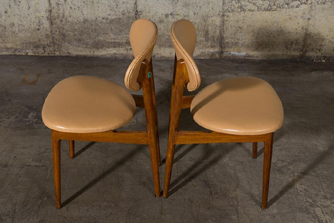 Grete Jalk Dining Chairs, set of six - 6