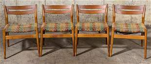Rare Early Arne Vodder Dining Chairs