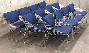 Verner Panton Attribution Dining Chairs