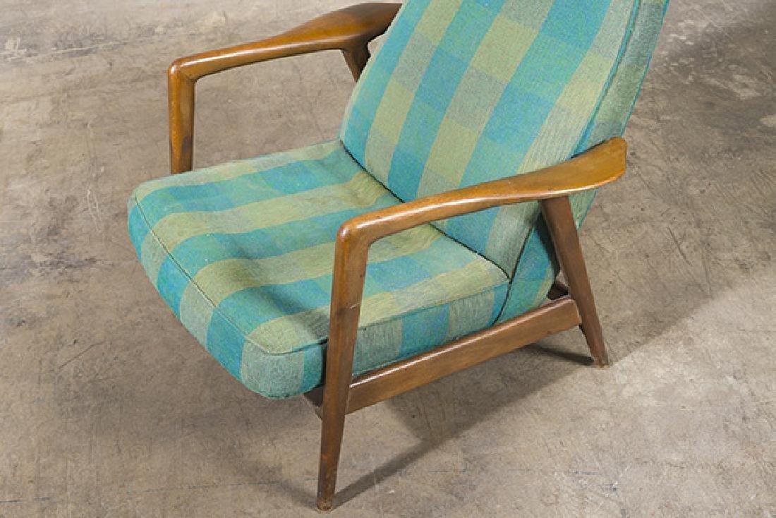 IB Kofod Larsen Reclining Lounge Chair - 6