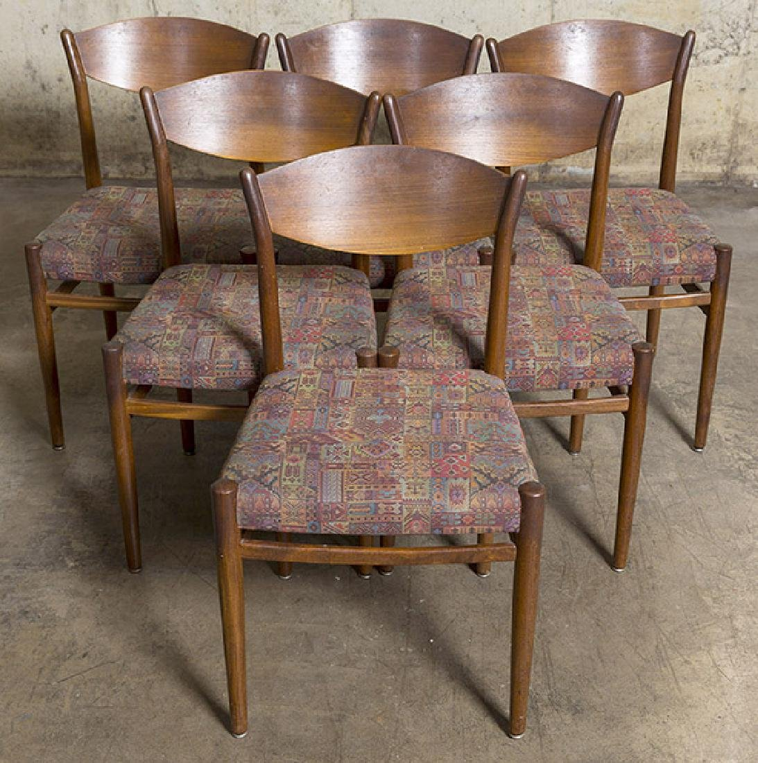 Poul Voltner (Attribution) Dining Chairs