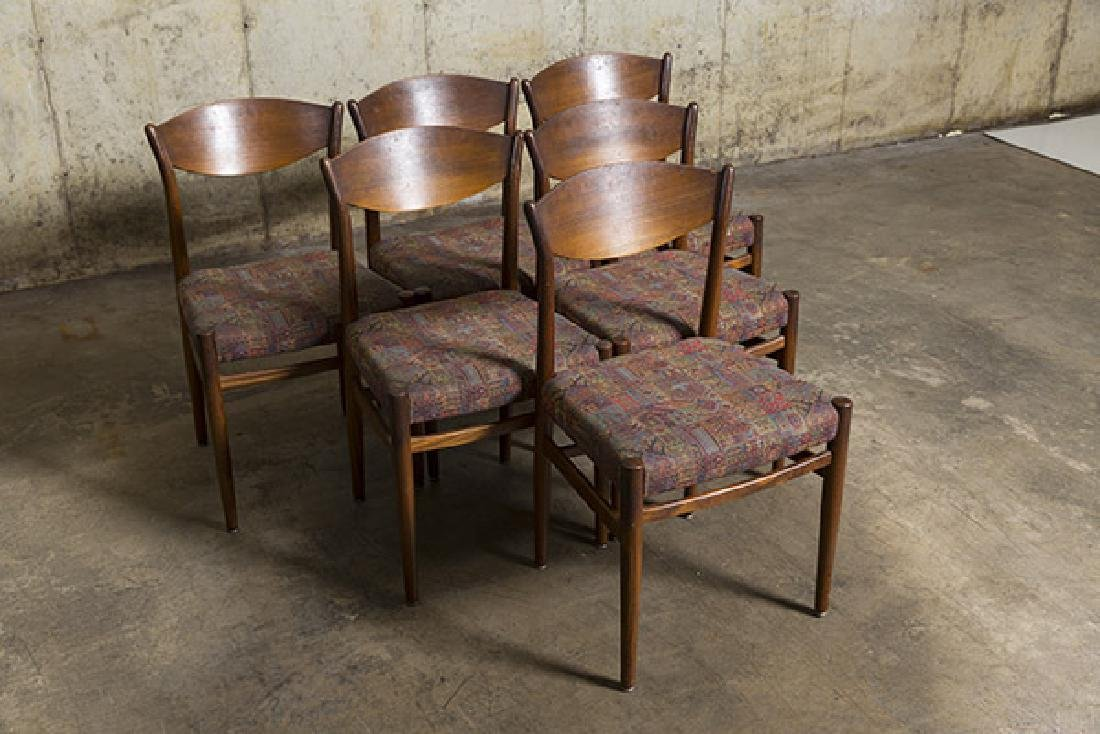 Poul Voltner (Attribution) Dining Chairs - 8
