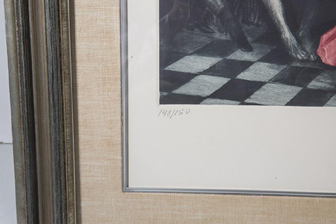G.H. Rothe (1935-2007) Mezzotint (Poland) - 4