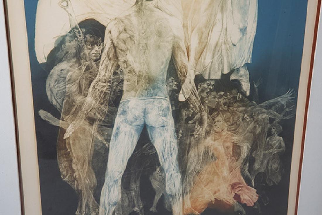 G.H. Rothe (1935-2007) Mezzotint (Poland) - 7