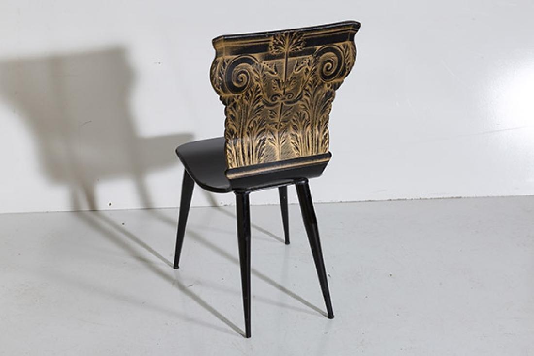 Piero Fornasetti Column Chair - 10