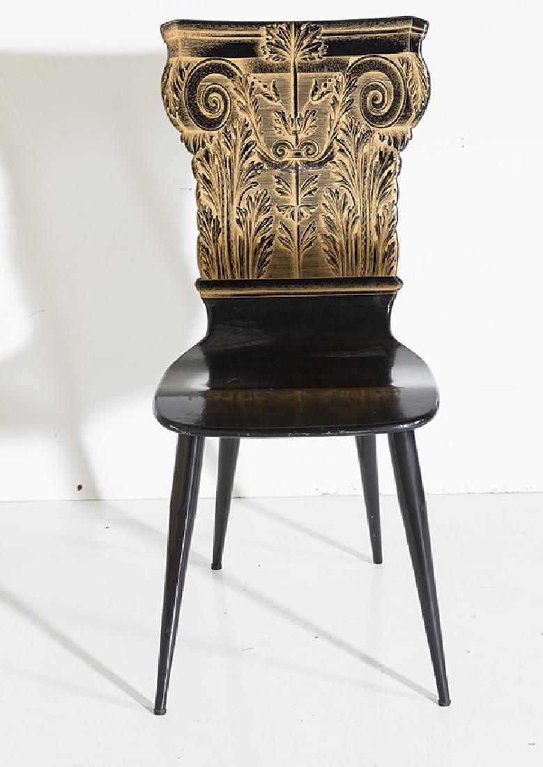 Piero Fornasetti Column Chair - 2
