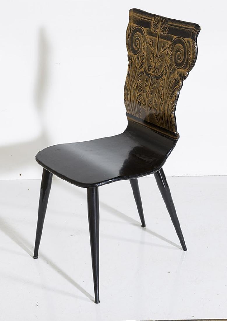 Piero Fornasetti Column Chair - 3