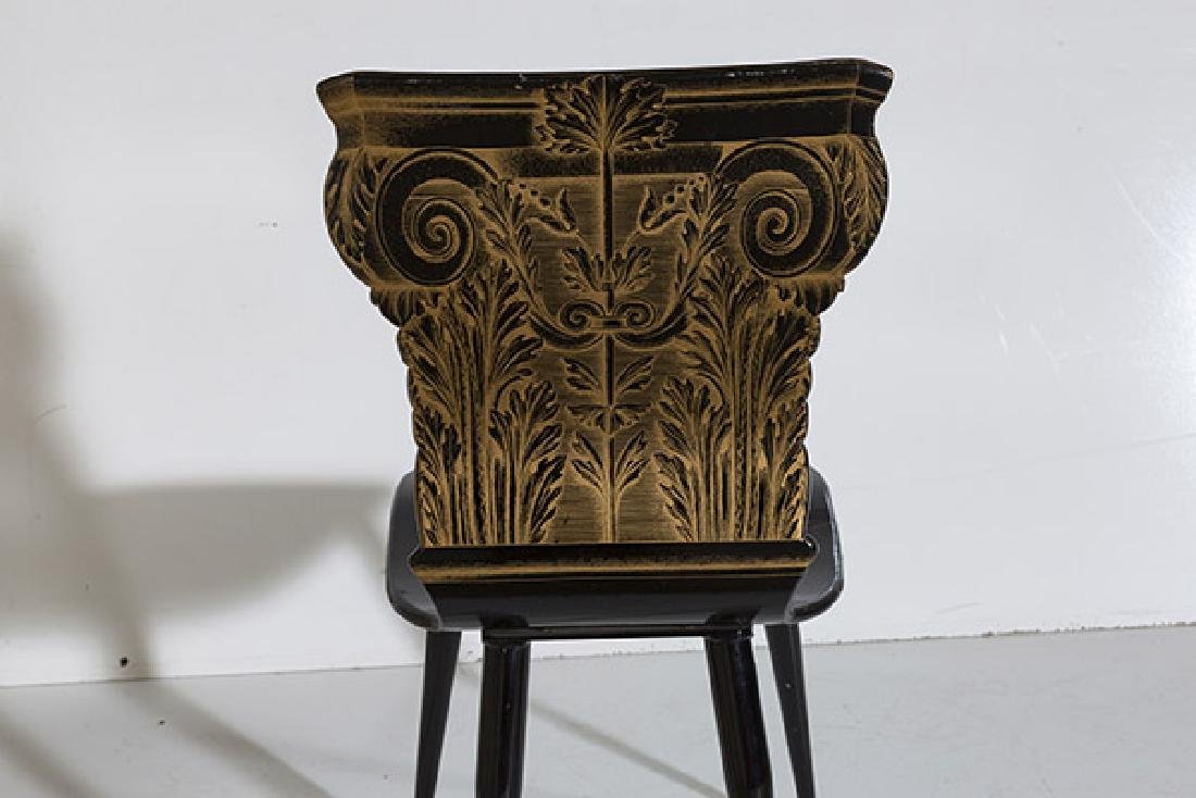 Piero Fornasetti Column Chair - 5