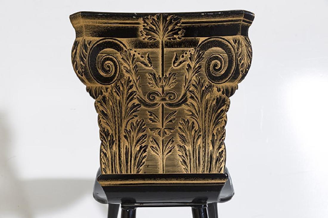 Piero Fornasetti Column Chair - 7