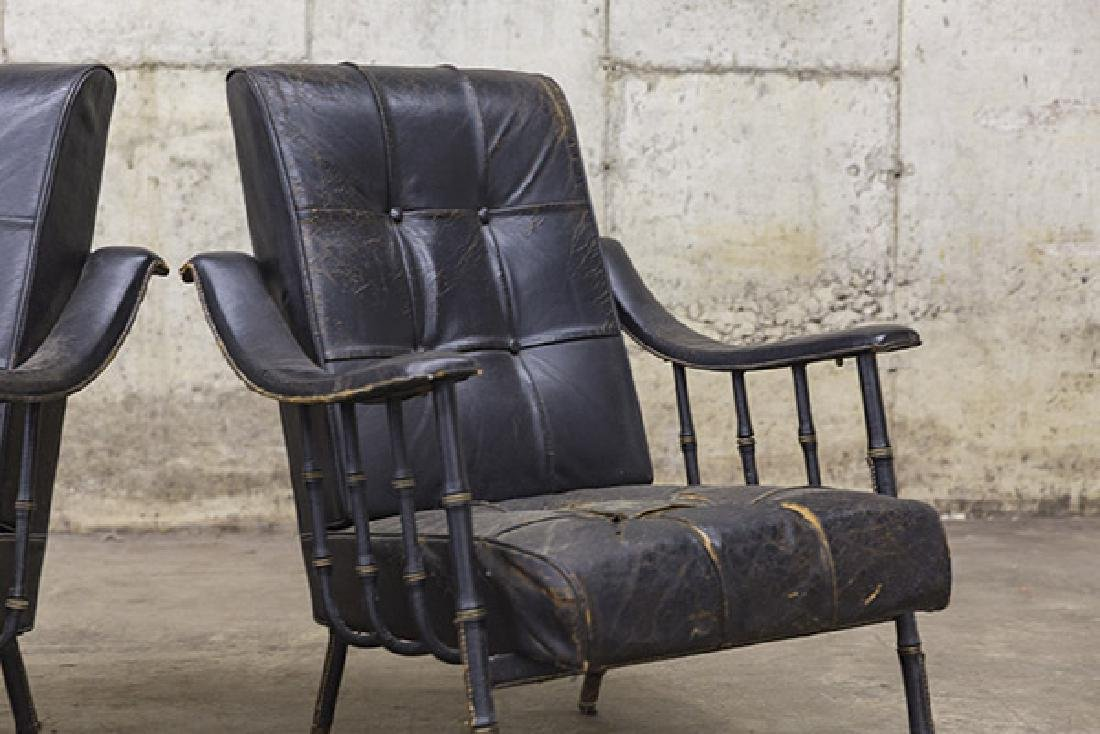 Jacques Adnet Lounge Chairs - 2