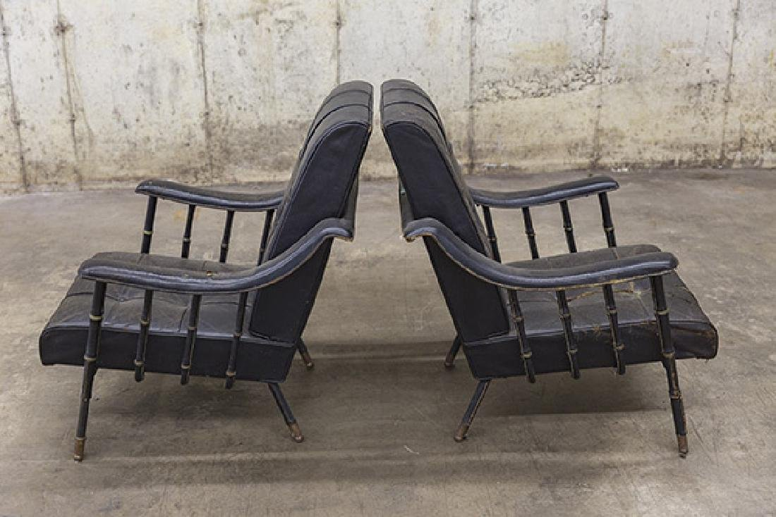 Jacques Adnet Lounge Chairs - 5