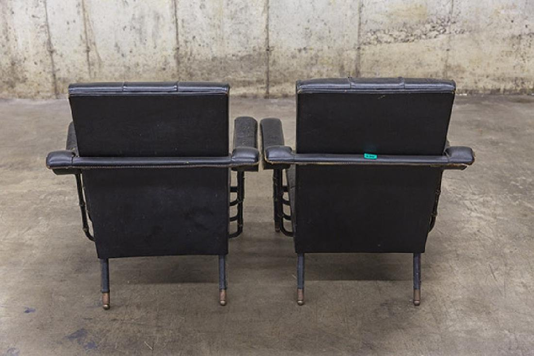 Jacques Adnet Lounge Chairs - 6