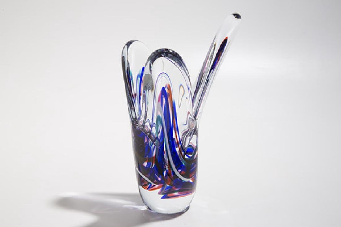 Judi Weilbacher Art Glass Sculpture - 3