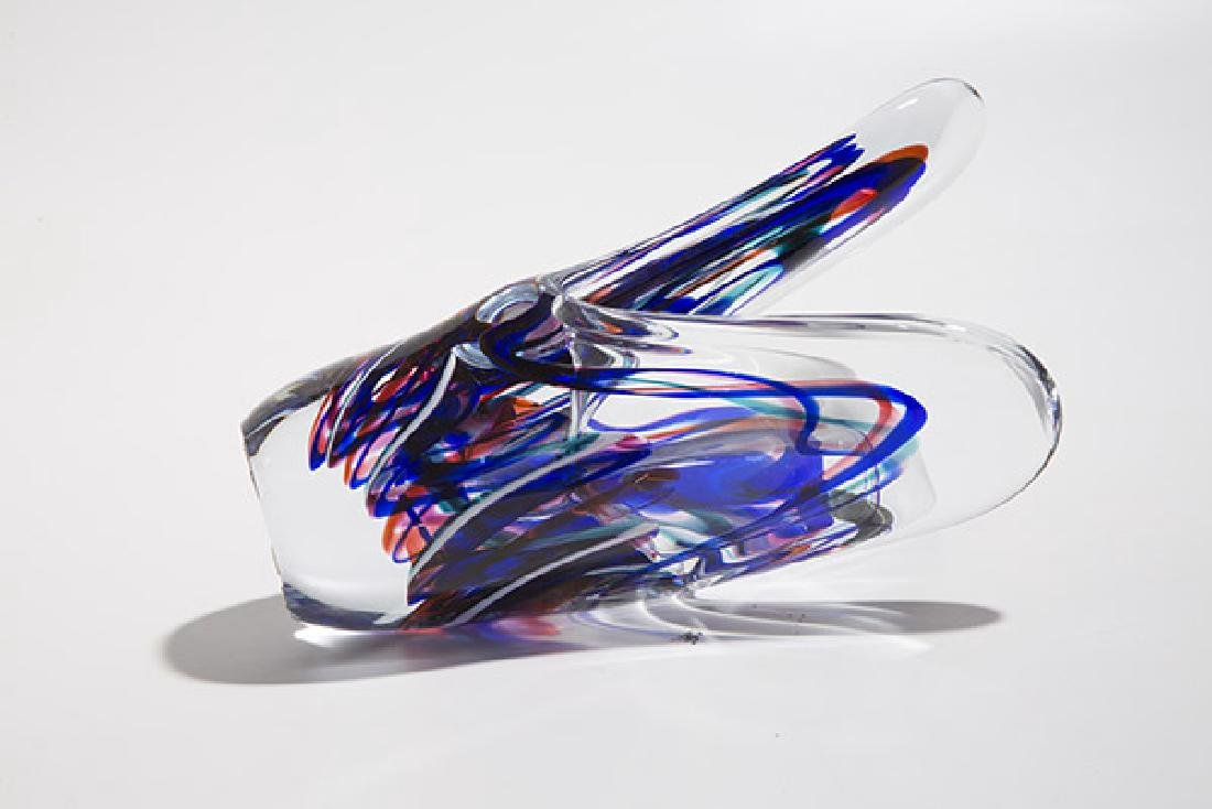 Judi Weilbacher Art Glass Sculpture - 5